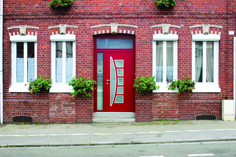 porte d 39 entr e k line avec s curit et isolation id ale. Black Bedroom Furniture Sets. Home Design Ideas