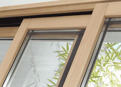 Une fenêtre mixte bois alu pour un bon compromis