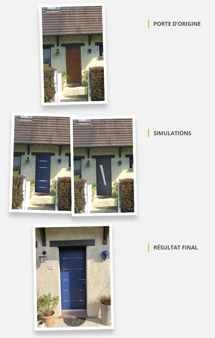 Changer De Porte De Fenêtres Ou De Volets Votre Simulation Photo