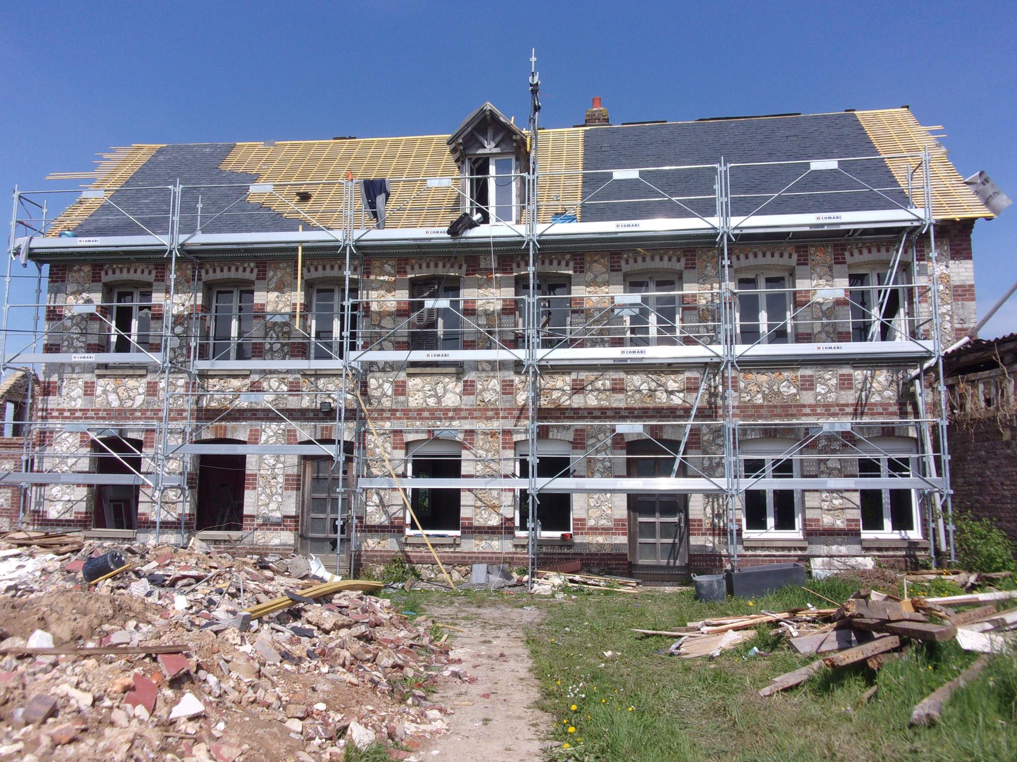 Renovation Fenetre Maison Ancienne rénovation d'une grande maison : 20 fenêtres et une porte d